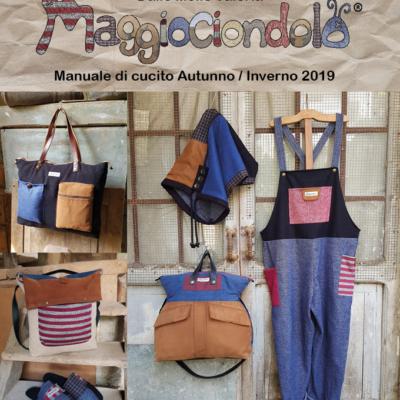 PREVENDITA Manuale di cucito Autunno / Inverno 2019